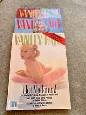 Madonna Vanity Fair Magazines 1990, 1991, 1992 Cover