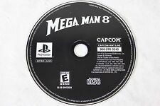 Nice Sony Playstation 1 PS1 Game - MEGA MAN 8 by Capcom (2002) - Disc Only!