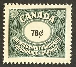 Lot12 Canada Unemployment Stamp FU75 NG