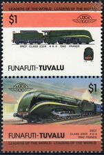 1940 Nord / SNCF Class 232-R (4-6-4) France Train Stamps / LOCO 100