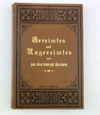 Ferdinando conte Eckbrecht Dürckheim ogni sorta gereimtes e ungereimtes, ea 1890
