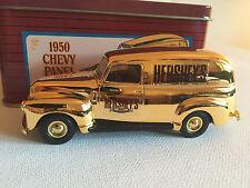 ERTL Hersheys 1950 Gold Chevy Panel Van 100th Anniv in Numbered Storage Tin 1:43