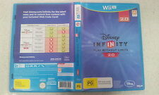 Disney INFINITY (Play without limits) 2.0 Nintendo Wii U Game Only PAL Version