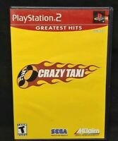 Crazy Taxi  - PS2 Playstation 2 Game Tested Working