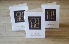CH Men - Carolina Herrera 100% Authentic Retail Samples. Pack of 3,1.5ml Sprays