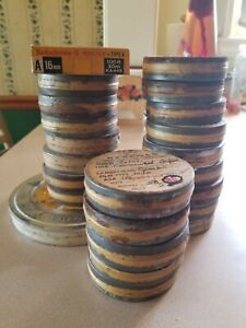 16mm Exposed Undeveloped Home Movie Film Lot Chicago Ravenswood  Hospital