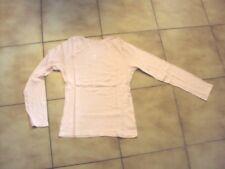 T-shirt uni rose pâle pour fille en 14 ans en TBE