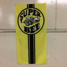 Dodge Super Bee Flag ~ mopar charger v8 hemi set-8 muscle car ford chevy mancave