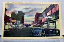 Arizona AZ Tucson Congress Street Postcard Old Vintage Card View Standard Post