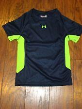 Under Armour Heat Gear Navy Blue Toddler Boys Shirt Size 4T