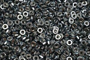 (1000) 12-24 Hex Machine Screw Nuts #12 Zinc Plated