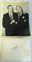 1959 press photo ~ BOB HOPE, JACK BENNY