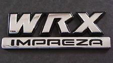 Black WRX IMPREZA Badge STI WRX TURBO