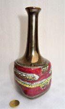 petit vase à haut col  années 1950 - 60 - gersey soliflore