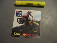 DANNY SMITH VINTAGE Sticker / Decal  Motorcycle  ORIGINAL old stock
