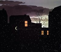 """RENE MAGRITTE Painting Photopaper or Canvas Print """"Good Aventure"""""""