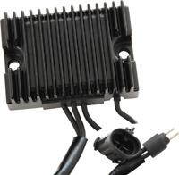 Drag Specialties 2112-0798 Solid State Regulator Black