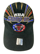 VTG 1998 Chicago Bulls Championship NBA Champions Starter Cap Snapback Hat NWTS
