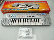 Casio SA-45 Compact Electronic Keyboard (incl box and instructions)