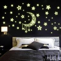 Light Luminous Stars Sky Houses Wall Sticker Kids Bedroom Removable Home Decor