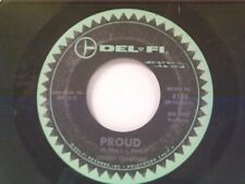 """JOHNNY CRAWFORD """"PROUD / LONESOME TOWN"""" 45"""
