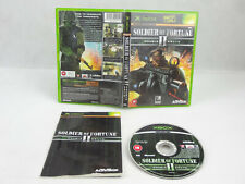Soldier Of Fortune Double 2 Helix Xbox Original Complete PAL