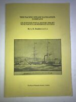 Philately Doublet-PACIFIC STEAM NAVIGATION COMPANY/MARITIME POSTAL HISTORY CHILE