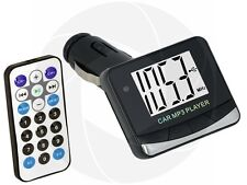 USB Flash Drive SD Card MP3 Car Player Wireless FM Transmitter Remote Control