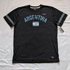 Mitre Elite Soccer T-Shirt Argentina Flag Men Large