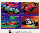 1995 Futera Adelaide Grand Prix Trading Cards PROMO CARD SET (4)