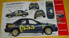 1993 1994 1995 Subaru Impreza Colin McRae Rally Car Turbo 300hp Info/Specs/photo