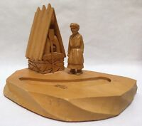 Paul Emil Caron (P.E.Caron) Original Sculpture Table Top Art