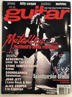 Guitar For The Practicing Musician Magazine April 1994 Metallica Aerosmith