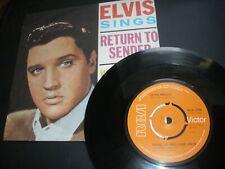 "New listing Elvis Presley Return To Sender c/w Where Do You Come From 7"" Vinyl 1977 RCA 2706"