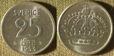 Sweden : 1953TS 25 Ore BU #824 IR9600