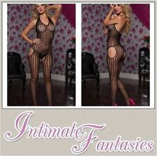 Unbranded Glamour Striped Stockings & Hold-ups for Women