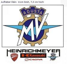 MV AGUSTA Sticker Aufkleber 11cm F4 Brutale MV-Logo