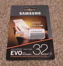 Samsung 32 GB EVO Scheda Micro SD SDHC 95MB/s UHS - 10 I Class FHD TF Scheda di memoria