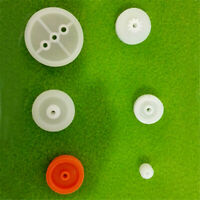 6pcs/pack Motor Synchronous Belt Plastic Sheave Pulley Wheel 6~24mm for DIY Car