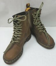 Doc Dr. Martens Rare 1460 to 1495 Limited Edition Brown Leather Boots Women's 7