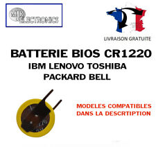 CR1220 Toshiba IBM Lenovo Packard Bell CMOS Time Bios Battery Batterie