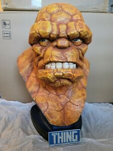 SIDESHOW THE THING LIFE SIZE 1:1 SCALE Bust STATUE FANTASTIC FOUR  Avengers HULK