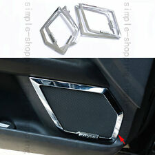 Chrome Door Side Speaker Decoration Cover Trim For Ford Fusion Mondeo 2013-2016