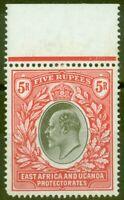 KUT 1903 5R Grey & Red SG13 Fine & Fresh Lightly Mtd Mint