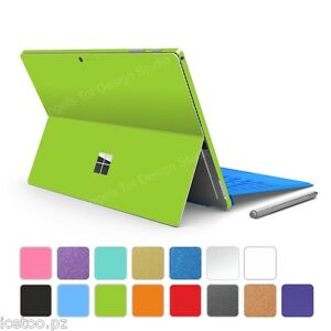 For Microsoft Surface PRO 4 COLORFUL MATT Decal Protector Wrap Sticker Skin