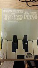 Armonizar y transposición al piano: Evans y Baker partitura: