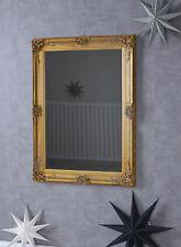 Miroir Baroque XXL Mural Vestiaire Nspiegel Ancien de Sale Bain Or