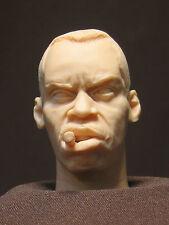 "CUSTOM Aliens COLONIAL  Marines  Sgt Apone HEAD SCULPT.  1/6 scale. 12"". A-31"