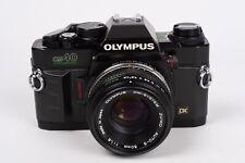 Olympus OM-40 Program + Zuiko Auto-S 50mm 1:1,8 - NEW SEALS
