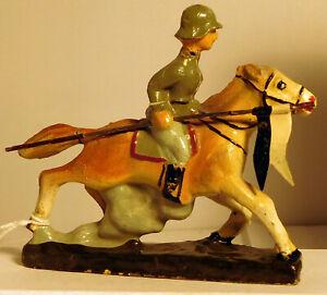 Schusso German Soldier in Horseback